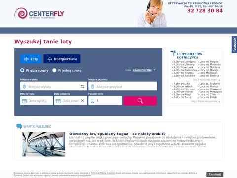 Centerfly bilety lotnicze