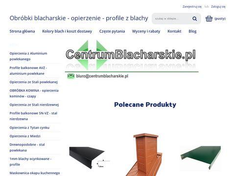 Centrumblacharskie.pl pas nadrynnowy