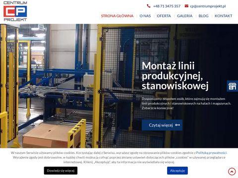 Centrumprojekt.pl roboty przemysłowe