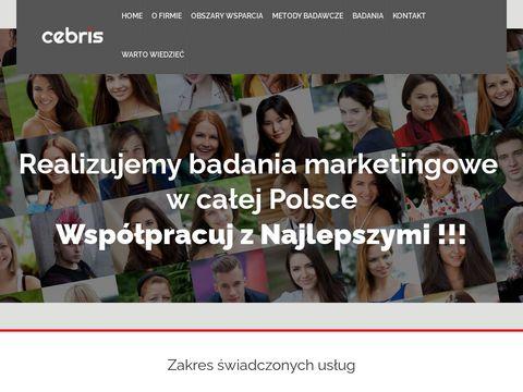 Cebris.pl badania marketingowe