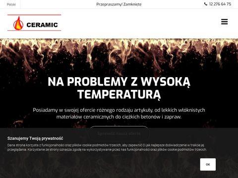 Ceramic - beton ogniotrwały