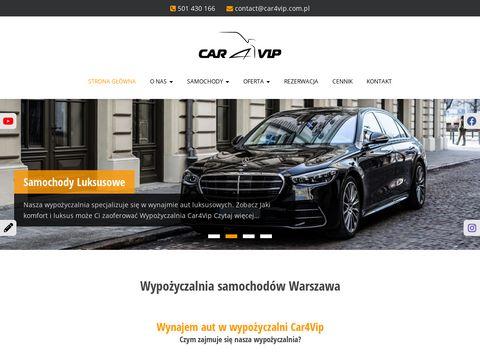 Car4Vip - wypożyczalnia samochodów
