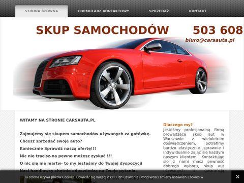 CarsAuta.pl skup aut