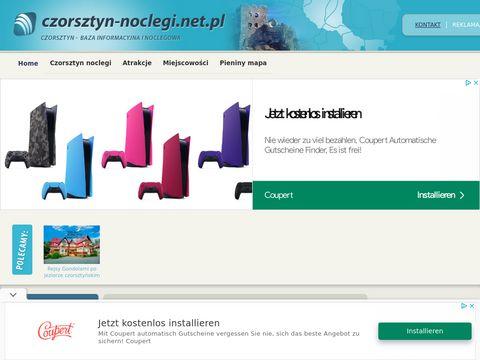 Czorsztyn-noclegi.net.pl baza informacyjno noclegowa