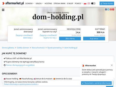 Dom-holding.pl developer Bydgoszcz i inwestycje