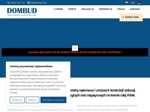 Dombud.com - konstrukcje przestrzenne