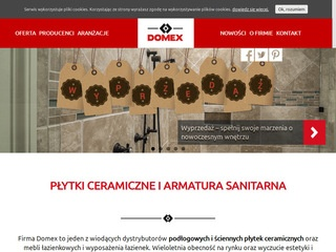 Domex ceramika sanitarna Szczecin