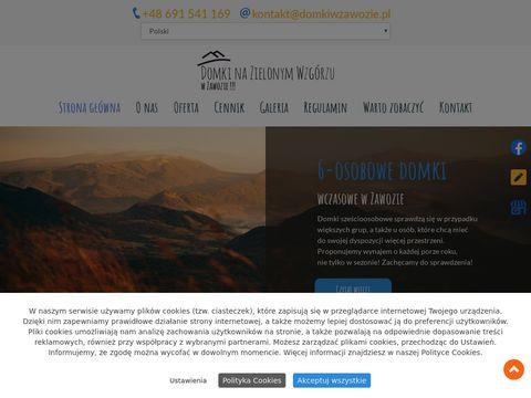 Domkiwzawozie.pl na zielonym wzgórzu