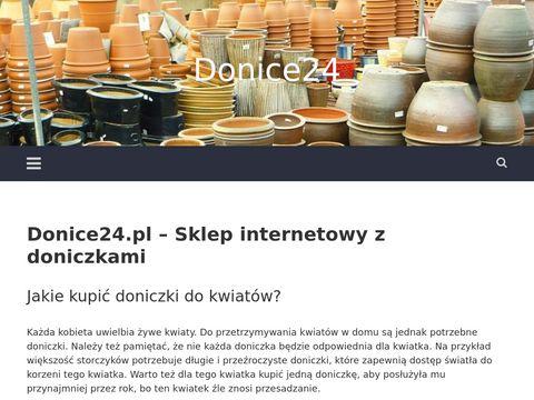 Donice24.pl doniczki tarasowe w sklepie