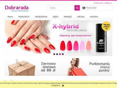 Dobrarada.com.pl ozdoby do paznokci, żele hybrydowe