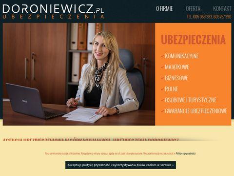 Doroniewicz.pl ubezpieczenia
