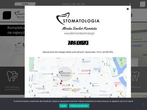 Monika Smoleń-Kamińska stomatologia Piła