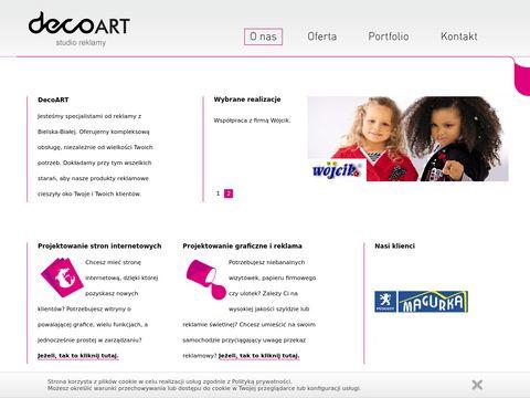 DecoArt - druk wielkoformatowy Bielsko