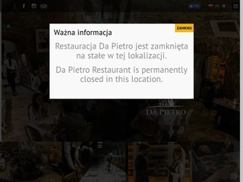 DaPietro - restauracje Kraków rynek