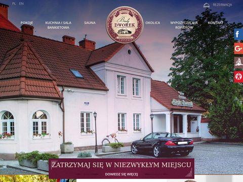 Dworekczluchow.pl hotel zamkowy