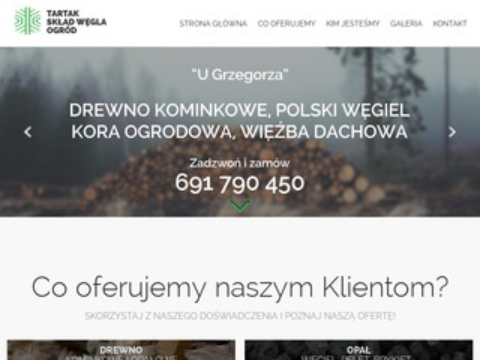 Drewnokominkowe.wroclaw.pl skład opału i węgla