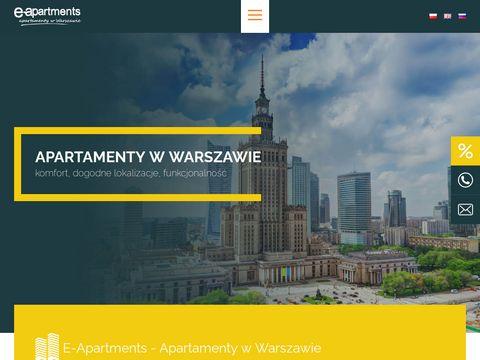 Noclegi w centrum Warszawy