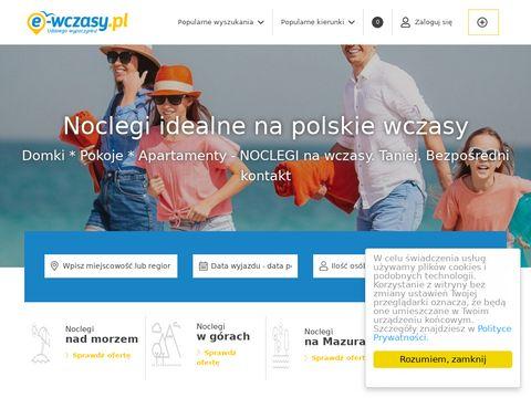 E-wczasy.pl - sprawdzona baza noclegowa