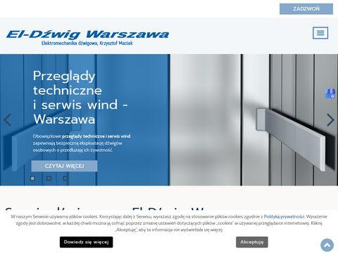 El-Dźwig s.c. konserwacja wind