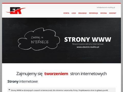 Electric-reality.pl tworzenie stron Mława Ciechanów