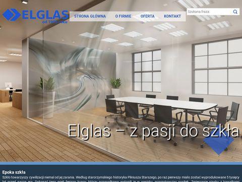 Elglas grawerowanie laserowe