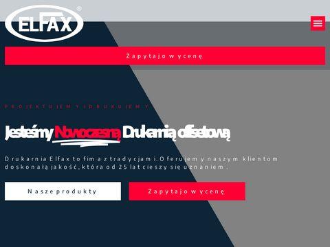 Elfax druk offsetowy Gdynia