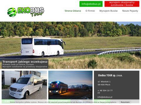 EkoBus wynajem autobusów Płock