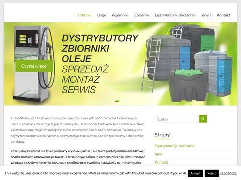 Motorpol oleje przemysłowe Olsztyn