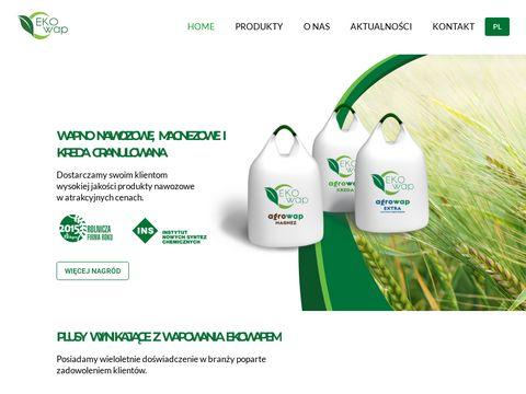 Ekowap.pl kreda granulowana
