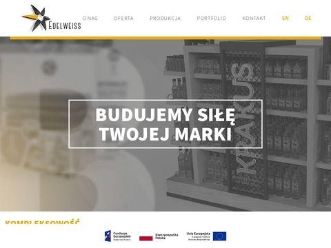Edelweiss.com.pl standy reklamowe