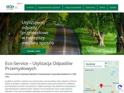 Eco-Service odpady przemysłowe Warszawa