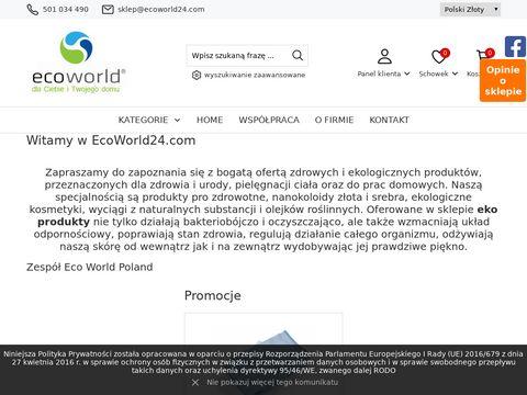 Ecoworld24.com sklep z eko produktami