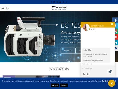 EC Test Systems kamera szybka