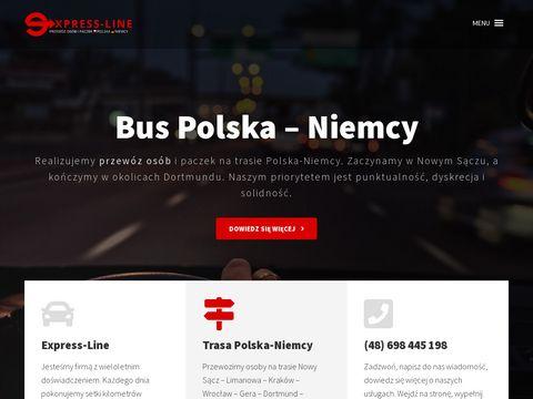 ExpressLine - małe busy do Niemiec