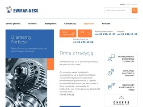 Ewmar.com.pl łożyska