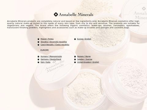 Eshopannabelle.com - kosmetyki mineralne