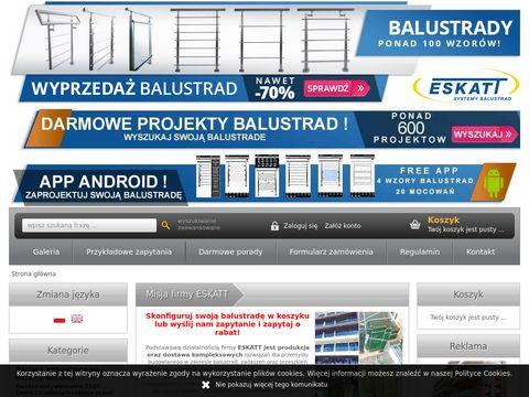 Eskatt.pl balustrady sklep