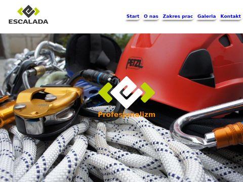 Escalada Poznań firma alpinistyczna