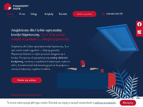Piotr Witecki doradztwo kredytowe Gdańsk