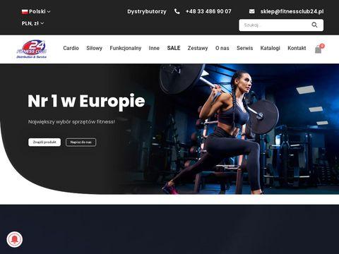 Fitnessclub24.pl wyposażenie