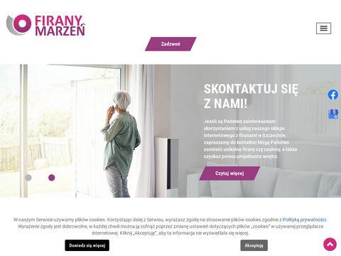 Firany-marzen.pl zasłony Szczecin