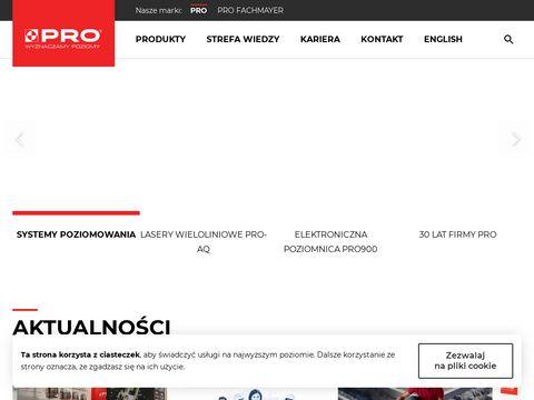 Firma-pro.pl - poziomice