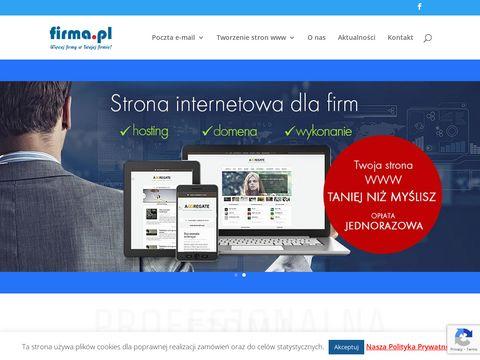 Domeny dla firm - firma.pl