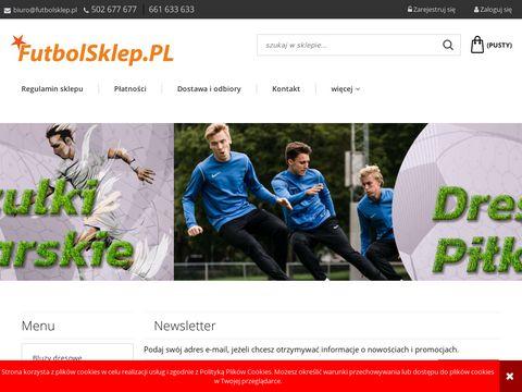 Futbolsklep.pl sklepy piłkarskie