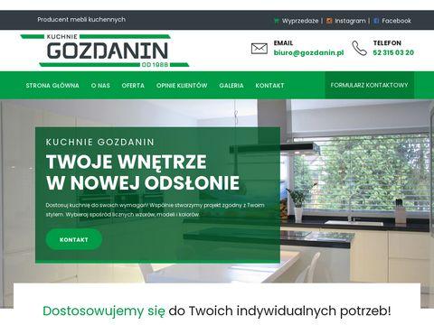 Gozdanin.pl kuchnie Gniezno