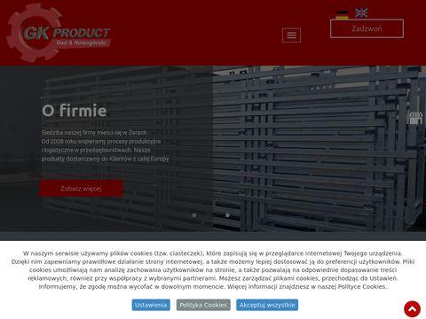 GK-Product s.c. stojaki do okien