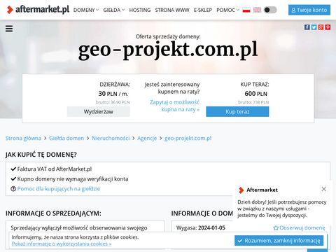Geo-Projekt usługi geodezyjne