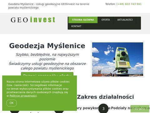 Geoinvest24.pl firma geodezyjna