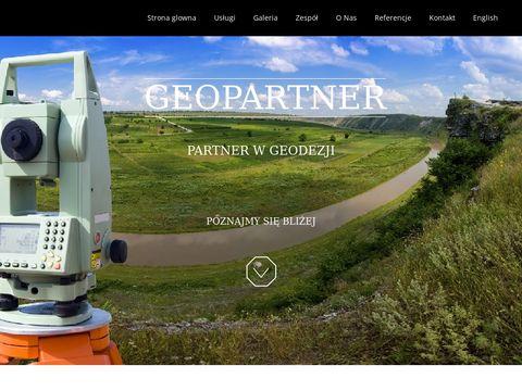 GeoPartner - pomiary GPS