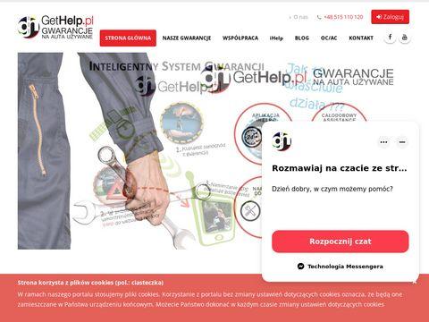 Gethelp.pl auta z gwarancją